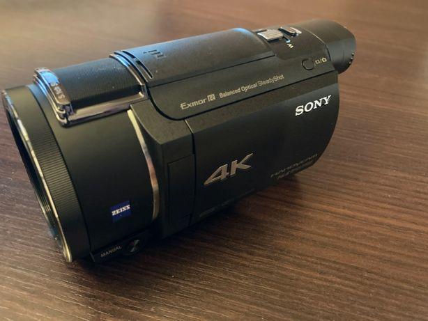 Sony FDR-AX53 4K, kamera raz użyta, jak NOWA