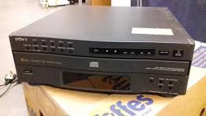 sony Compact 5 disc
