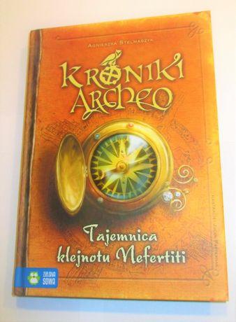 """kroniki archeo ,,Tajemnica klejnotu Nefertiti"""""""
