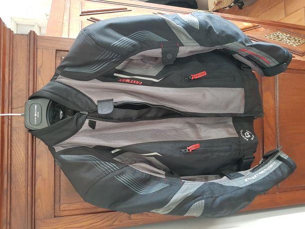 Roupa mota criança - conjunto de roupa de proteção para rapaz (novo)