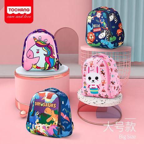 Детский рюкзак, для девочки и мальчика. Единорог! Динозавр! С 2 лет.