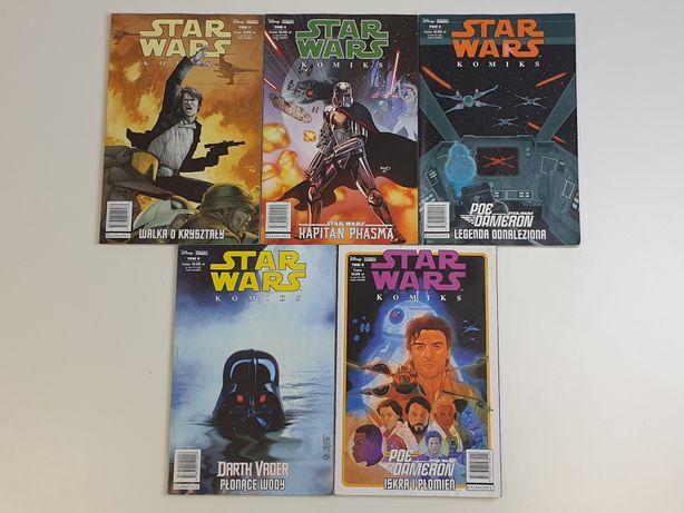 Star Wars Komiksy Komiks Darth Vader Poe Dameron Kapitan Phasma