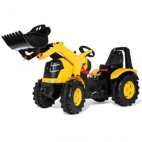 CAT Traktor na Pedały X-Trac Premium Łyżka Ciche Koła Rolly Toys