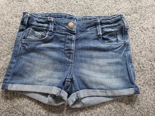 Spodenki jeansowe C&A rozm. 128