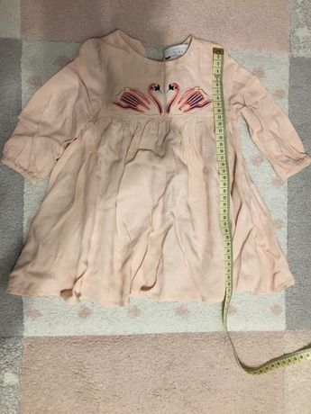 Stella Mccartney Zara Kids piękna sukienka