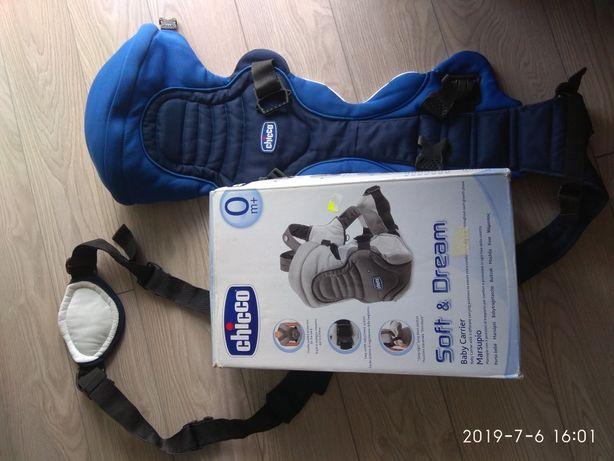 Nosidełko Chicco Soft&Dream Deep Blue 3,5-9,0kg - stan BDB
