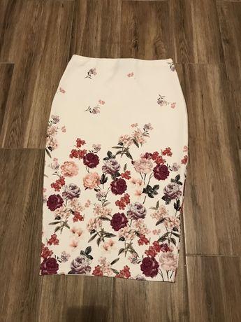 Spodnica new look 12 w kwiaty