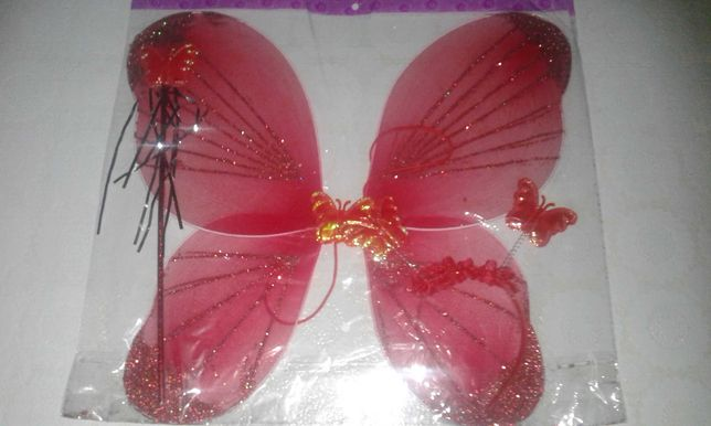 Новые крылья бабочки, феи, мотылька + обруч + палочка