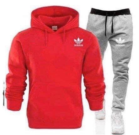 Dresy męskie Adidas Logo Szyte spodnie bluza WYSZYWANE