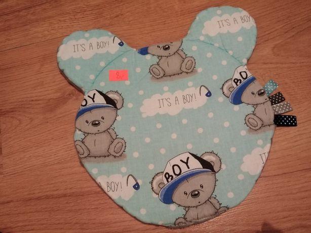 Płaska poduszka dla chłopca