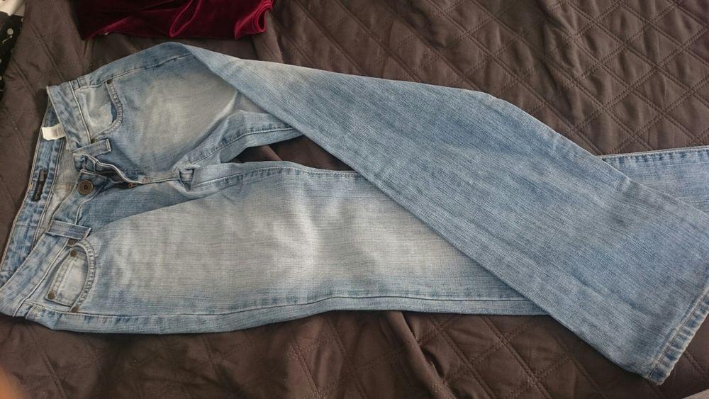 Spodnie jeans S 36 Cropp Janowice - image 1