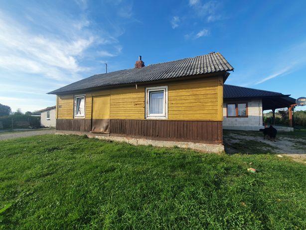 Dom drewniany do przeniesienia lub rozbiórki