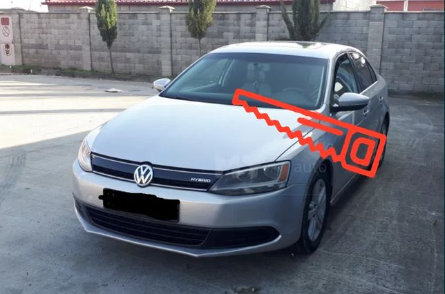 VW Jetta 6 USA Разборка. Запчасти: стекла, зеркала , фары.