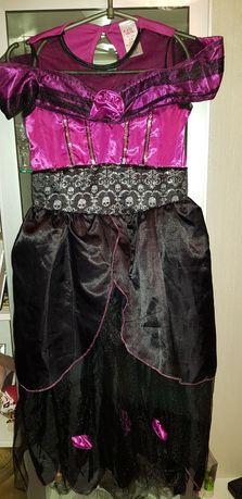 Карнавальное платье 8-11лет, Хэллоуин