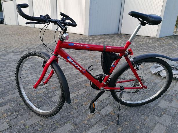 Rower górski czerwony 26 osprzęt shimano stan idealny