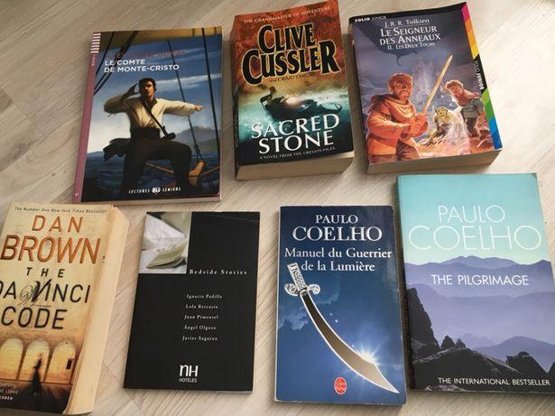 The Pilgrimage, Clive Cussler, Dan Brown Da Vinci Code Coelho Tolikien