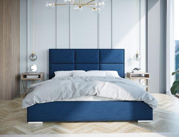 Łóżko tapicerowane WIKTORIA 90,120,140,160,18x200 - stelaż +pojemnik