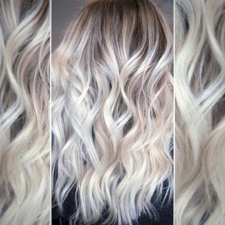 Балаяж 700грн Шатуш Омбре Окрашивание волос. Выход из чёрного в Блонд