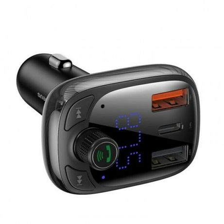 FM-трансмиттер Baseus T typed S-13 wireless MP3 car charger (PPS Quick