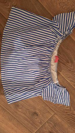 Класна укорочена  блузка