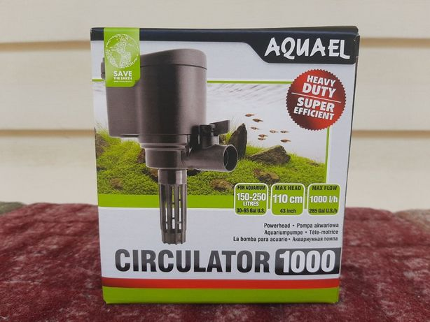 Насос, голова Aquael Circulator NEW 1000. НОВЫЙ