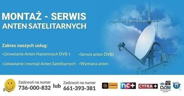 Montaż Anten Ustawienie Anteny Satelitarnej dvbt Kielce i okolice