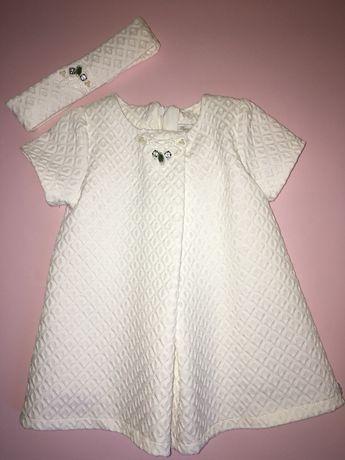 Очень красивое платье Zara на годик next