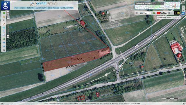 Działka do wynajęcia Anielin DK S12, 8200 m2