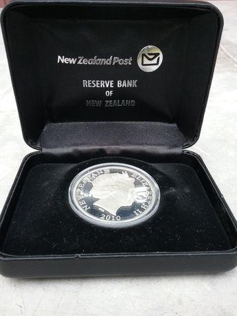 Монета серебро 1 ONE DOLLAR