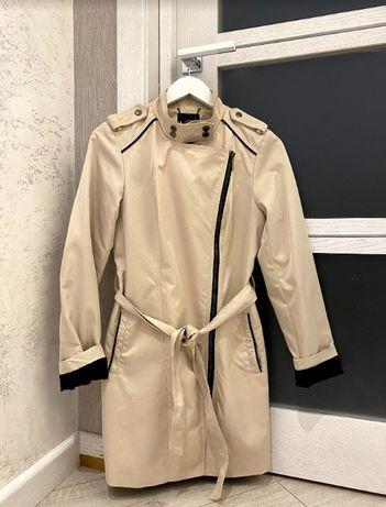 Пальто Mohito кремовый беж 38 размер + подарок : очки;