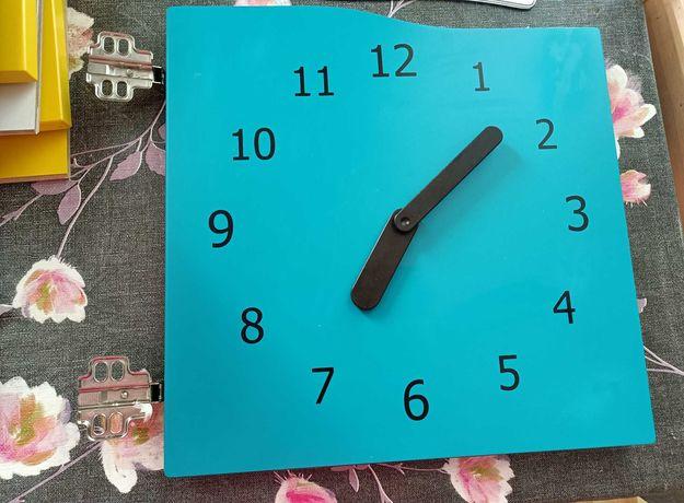 Wkład do regału Kallax Niebieski zegar