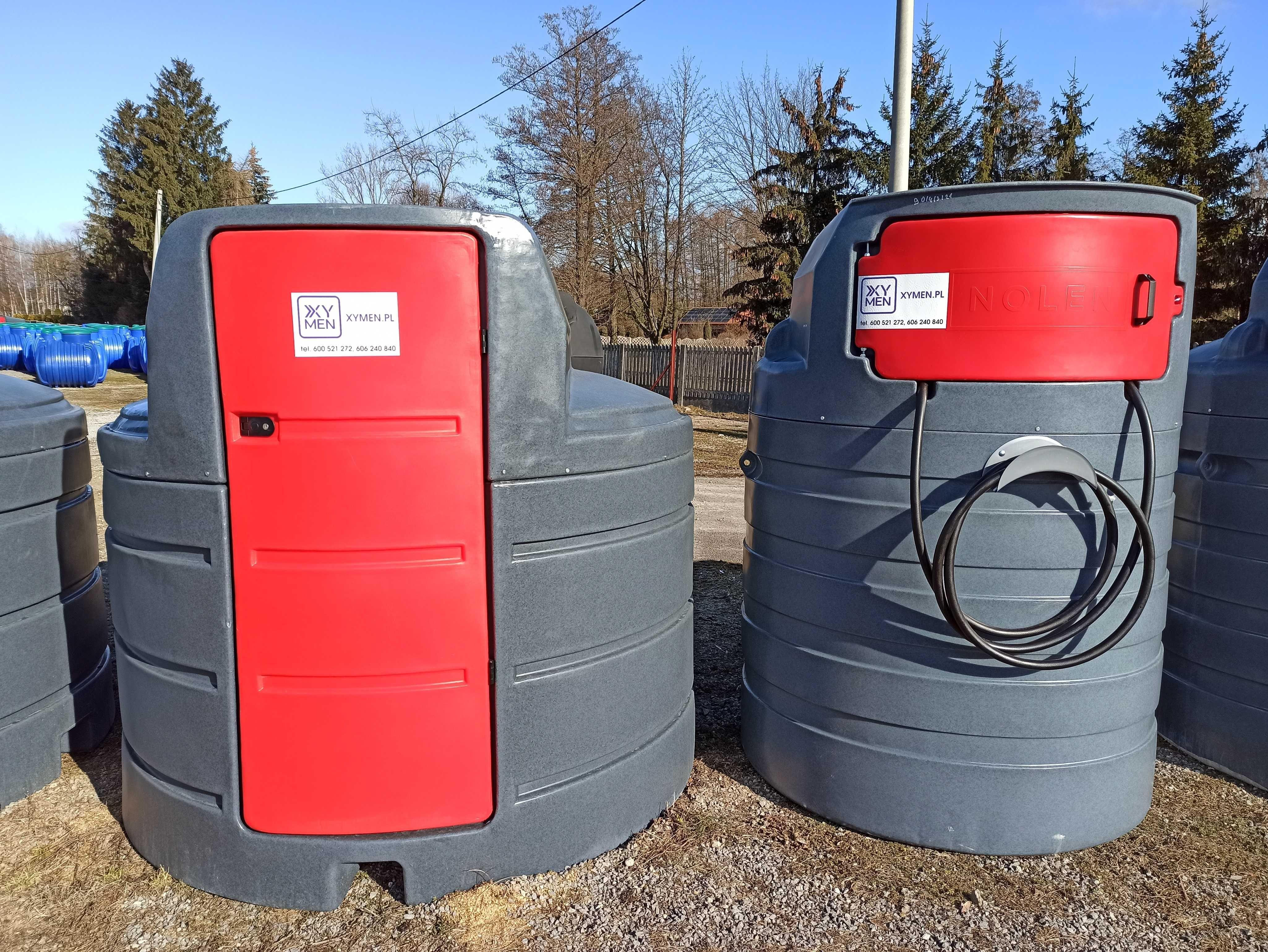 Zbiornik na paliwo ropę ON 1500l 2500l
