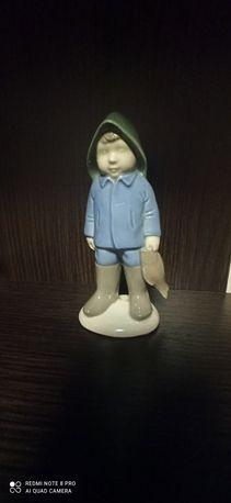 Статуэтка ГДР Мальчик рыбак.