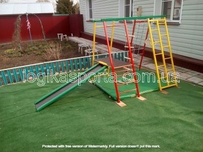 Детская площадка, уличный игровой комплекс, горка, спортивный уголок