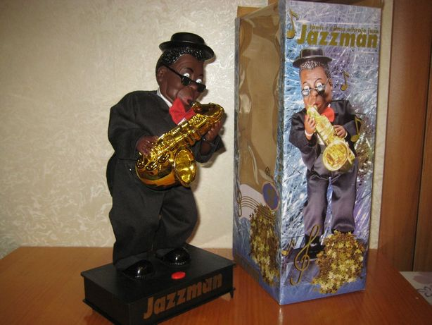 лялька музикальна саксафоніст