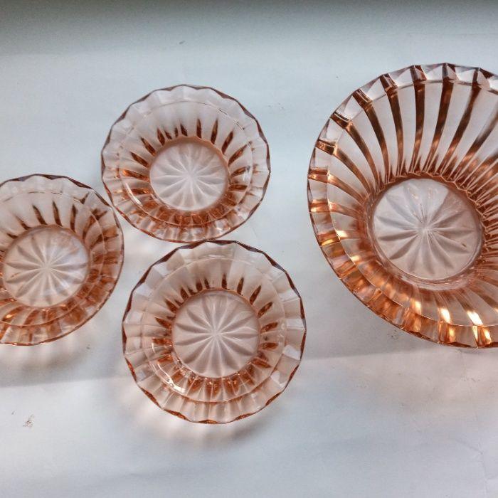 Розетки для варенья цветное стекло СССР Житомир - изображение 1