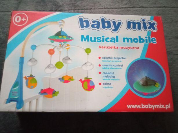Karuzela baby mix samoloty