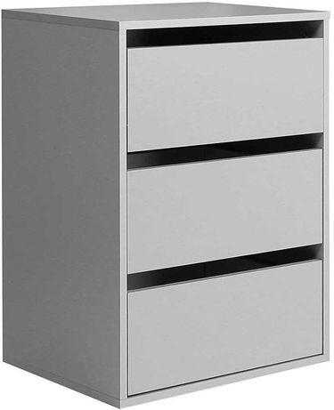 OUTLET - komoda szafka z 3 szufladami do biura garderoby szafka nocna