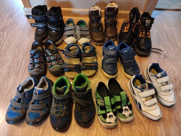 Buty chłopięce rozm. 28-29 11 par za 50zł