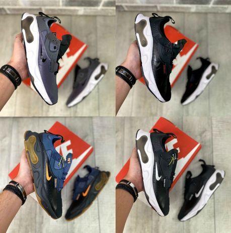 Мужские кроссовки Nike React N.354 Gore-Tex 41-45 Хит Осени! Наложка!