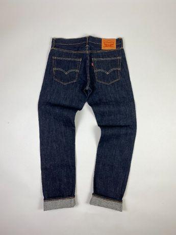 Плотные темно-синие джинсы, деним Levis 511 Selvedge, селвидж левис ev
