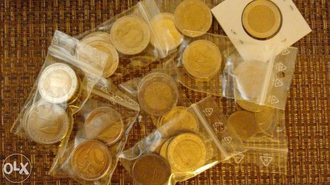 Moedas de euro : troca ou venda