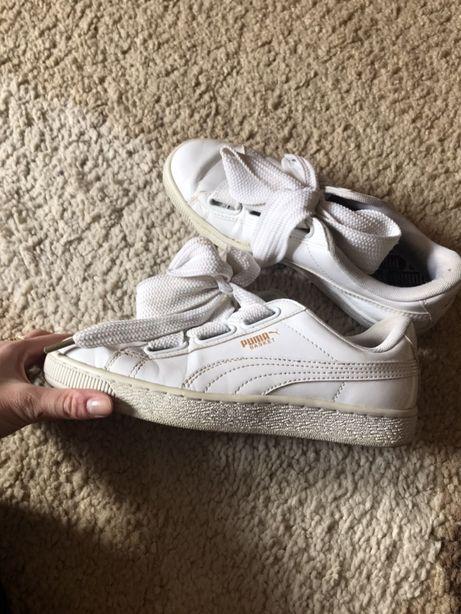 Buty puma białe jak nowe rozmiar 38