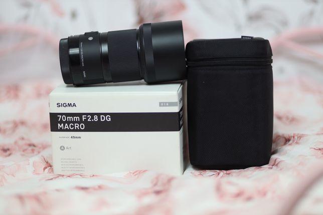 Obiektyw Sigma 70mm 2,8f Art mocowanie Canon Gwarancja