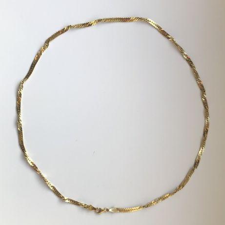 Łańcuszek złoty | pr 585 | dł 52,5 cm |  waga > 13 gr