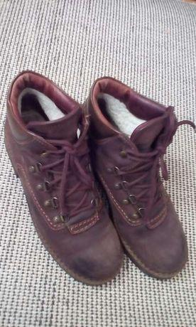 Ботинки тёплые нат.нубук 39-40р-р