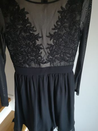 Sukienka sylwester studniówka s/m styl Lou