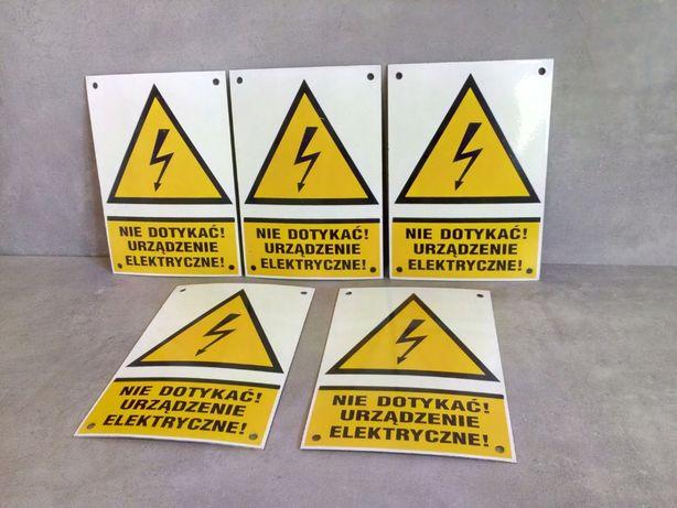 Tabliczki informacyjno-ostrzegawcze, nowe