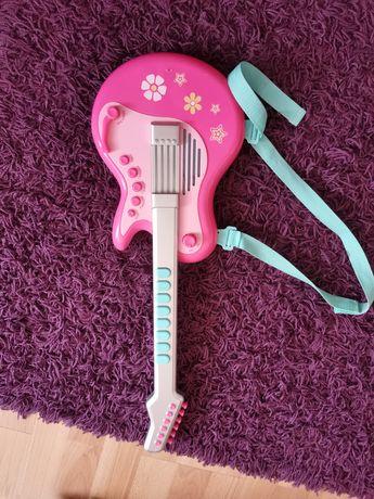 Gitara zabawka na baterie