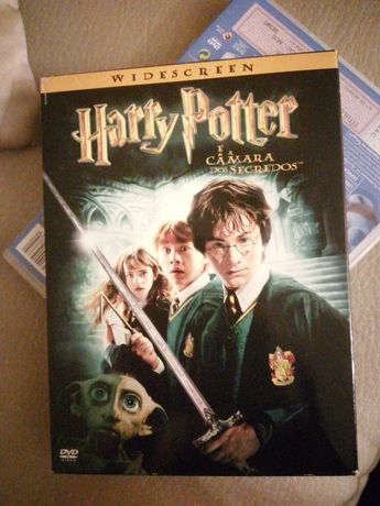 DVD Harry Potter e a Câmara dos Segredos